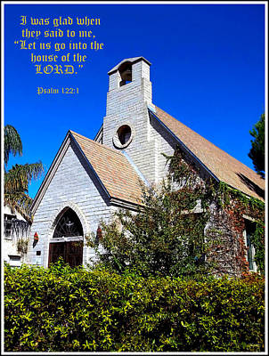 The House Of The Lord Print by Glenn McCarthy Art and Photography