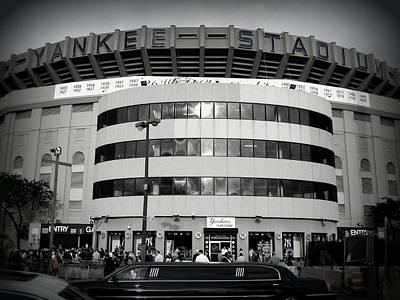 Yankees Photograph - The House That Ruth Built B/w by Aurelio Zucco