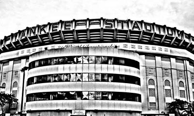 Yankees Photograph - The House That Ruth Built - Digital Drawing by Aurelio Zucco