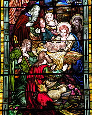 The Incarnation - Madonna And Child Print by Kim Bemis