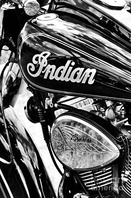 The Indian Chief Print by Tim Gainey
