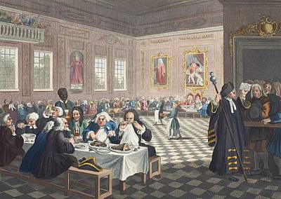 Moral Drawing - The Industrious Prentice Grown Rich by William Hogarth