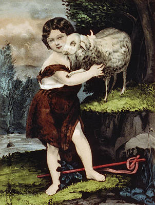 The Infant Saint John Print by Aged Pixel