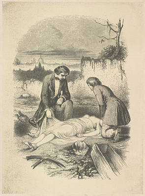 Edition Photograph - The Interment by British Library