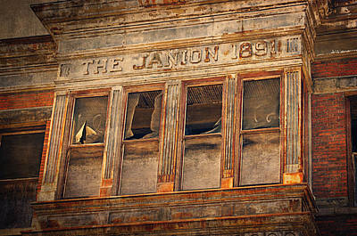 Cracks Digital Art - The Janion 1891  by Maria Angelica Maira