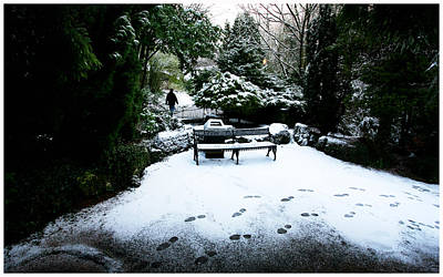 The Japanese Garden Print by Paul Sutcliffe