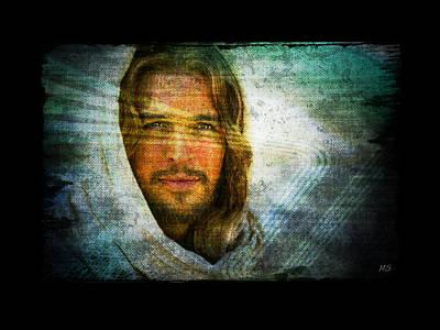 Soulful Eyes Digital Art - The Jesus I Know by Absinthe Art By Michelle LeAnn Scott
