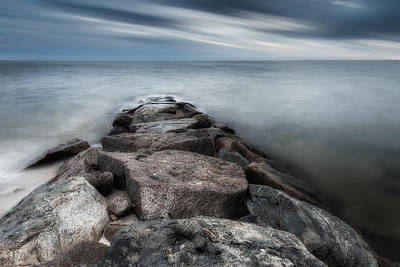 The Jetty Print by Bill Wakeley