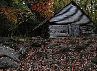 The Jim Bales Place In Autumn Print by Dan Sproul