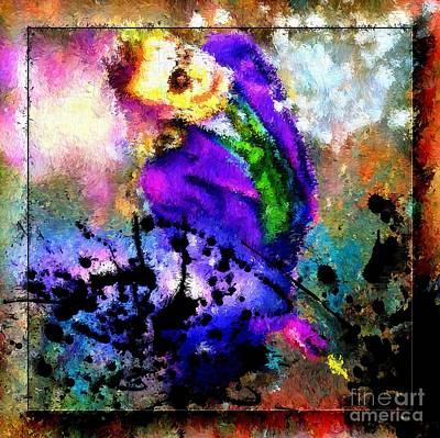 Heath Ledger Painting - The Joker The Dark Knight by Daniel Janda