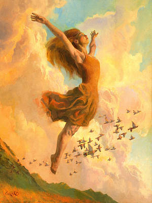 Ballet Painting - The Joy Of Life by Francois Girard