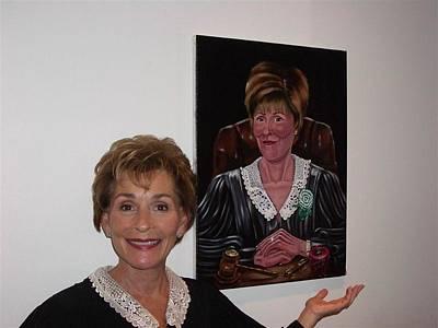 The Judge Shows Appreciation Print by Susan Roberts
