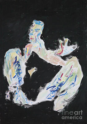 Figure Painting - The Jump 2551 by Lars  Deike