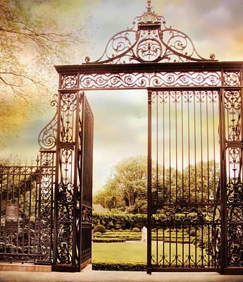 Spring Landscape Digital Art - The Vanderbilt Gate by Jessica Jenney