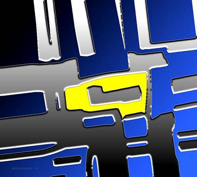 Abstract Photograph - The Key Piece  by Mario Perez