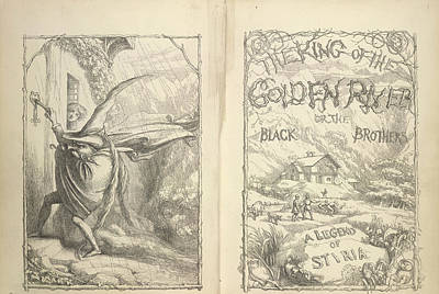 The King Of The Golden River Print by British Library
