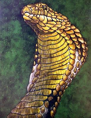 Artist Richard Brooks Painting - The King by Richard Brooks