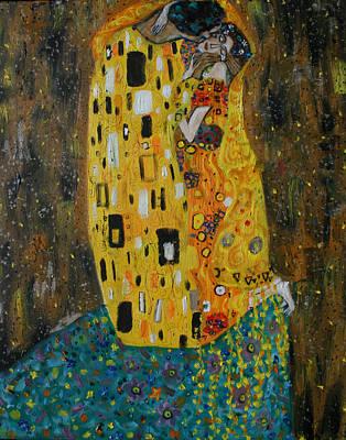 The Kiss Print by Hannah Curran