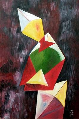 The Kites Print by Dipali Deshpande
