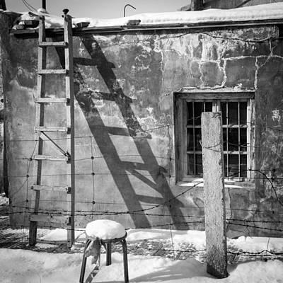 The Ladder Print by Stephanus Le Roux