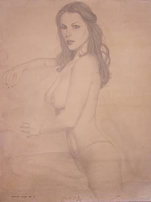 Sensual Drawing - The Lady by Geni Gorani