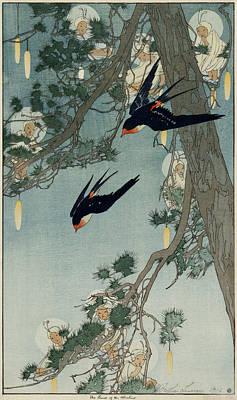 1916 Digital Art - The Land Of The Bluebird by Georgia Fowler