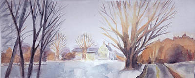 The Landscape Listens Print by Grace Keown