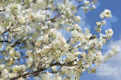 The Language Of Spring Print by Betty LaRue