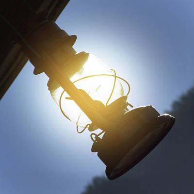 Oil Lamp Digital Art - The Lantern by Mike McGlothlen