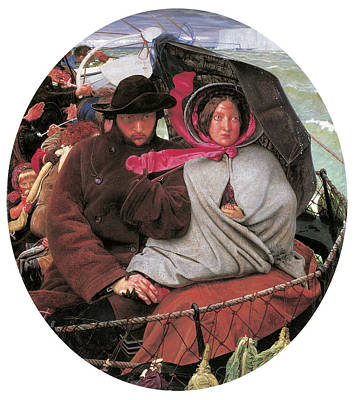 The Last Of England Print by Ford Madox Brown