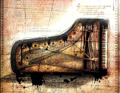 Gary Digital Art - The Last Sonata by Gary Bodnar