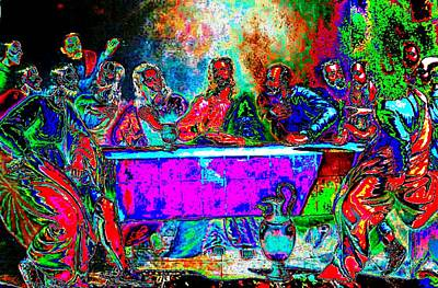 The Last Supper Rendition 01 Original by Ricky Nathaniel