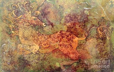 The Last Unicorn Print by Delona Seserman