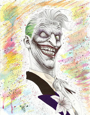 The Laughing Man Print by Wave