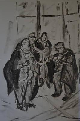 The Lawyers Original by Daniele Fedi