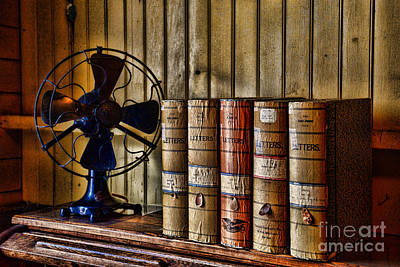 Letter Box Photograph - The Lawyers Desk by Paul Ward