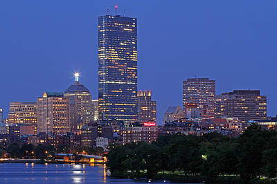 Prudential Center Photograph - The Lenox Hotel by Juergen Roth