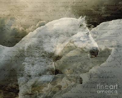 Judy Wood Digital Art - The Letter by Judy Wood