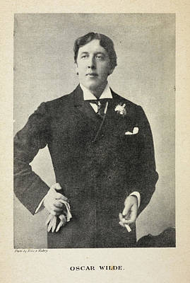 Reprint Photograph - The Life Of Oscar Wilde by British Library