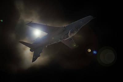 Hawk Mk 120 Photograph - The Light Hawk by Paul Job