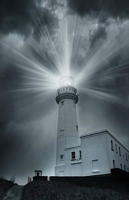 The Light House Print by Svetlana Sewell