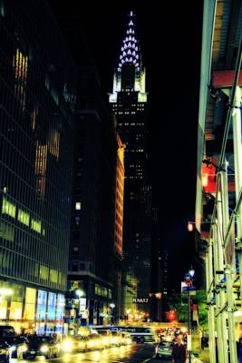 New Mind Photograph - The Lights Of New York City by Dan Sproul