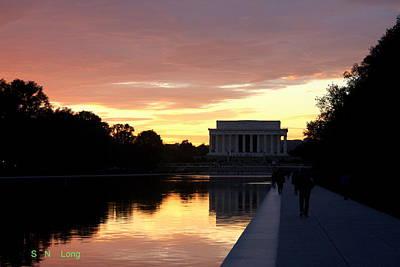 The Lincoln Memorial Original by Sam Long