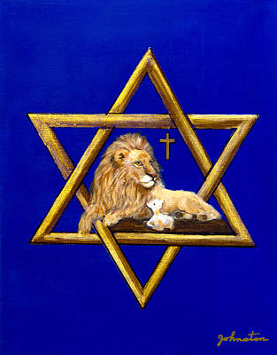 The Lion Of Judah #7 Original by Bob and Nadine Johnston