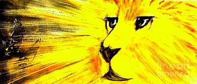 Lion Of Judah Painting - The Lion Of Judah Has Triumphed by Hazel Holland