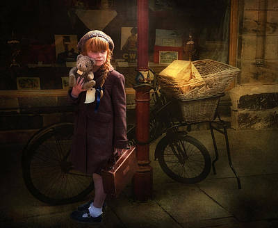 The Little Evacuee Print by Brian Tarr