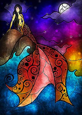 Anderson Digital Art - The Little Mermaid by Mandie Manzano