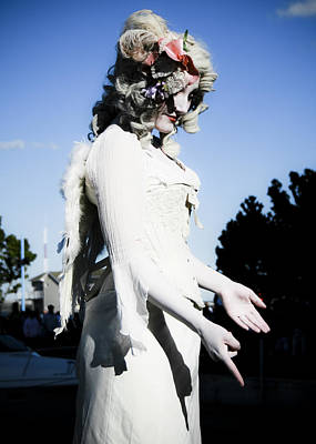 Photograph - The Living Statue by Nora Blansett