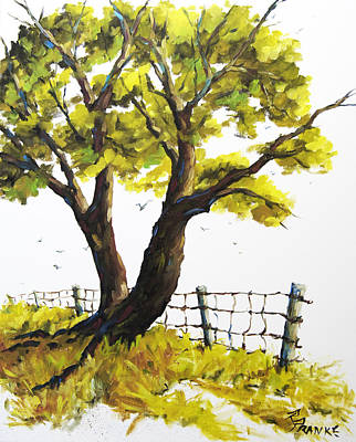 Quebec Painting - The Living Tree By Prankearts by Richard T Pranke