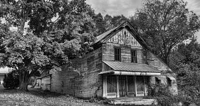 Haunted House Photograph - The Local Haunted House by Heather Applegate